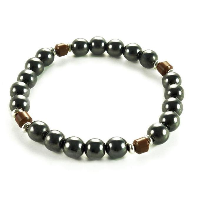 Jual Tiger Eye Brazilian Magnet Ion Tourmaline Health Bracelet Gelang Kesehatan Pria Diskon | Shopee Indonesia