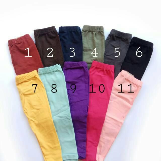 Legging Bayi Polos Alissa Rd Fashion 0 12bulan Shopee Indonesia