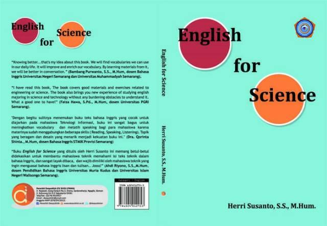New Buku English For Science Asli Shopee Indonesia