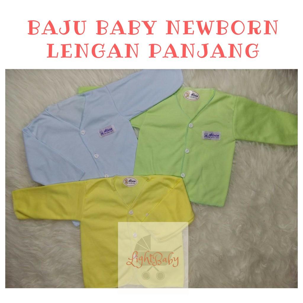 Toko Online Light Baby Id Shopee Indonesia Baju Bayi Newborn Lengan Panjang