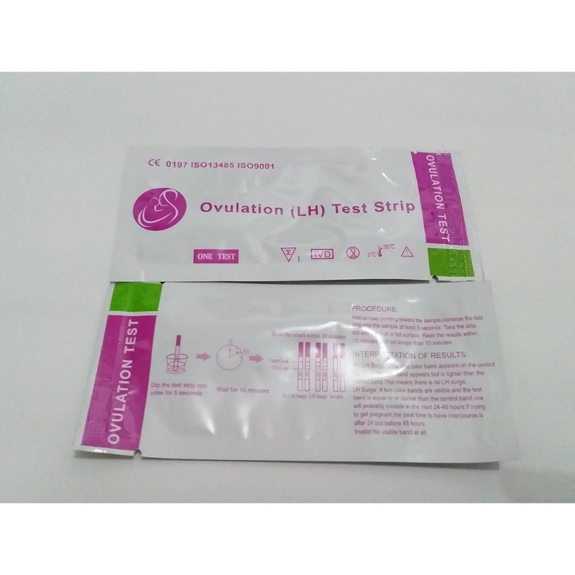 Ovulation Test Tes Ovulasi Tes Kesuburan Ovutest Tes Masa Subur Test Pack Shopee Indonesia