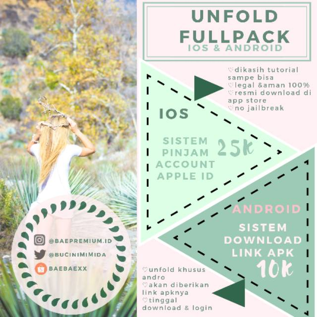 UNFOLD FULLPACK for iOS & Android