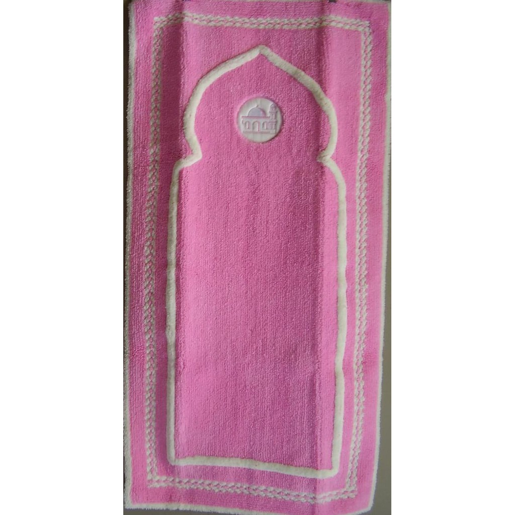 Produk Terbaru Sajadah Roll Karpet Masjid Mushola Pilar Vision Medeena 221006 Polos Bordeaux 105 X 570