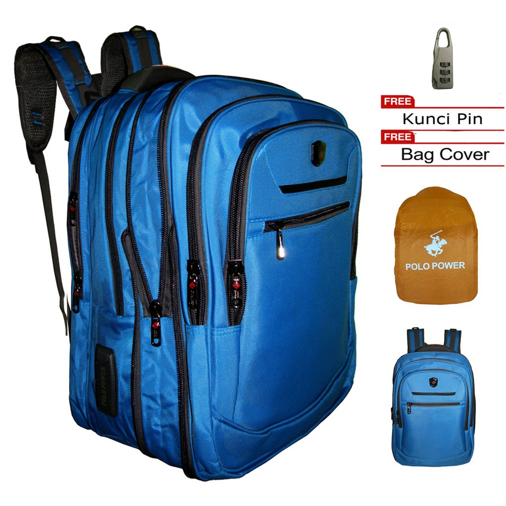 Prosport 835 Backpack Laptop Import Urban Style Casual Free Kunci Pin Angka Jungle Surf Daypack Ransel Outdoor 7165j 1 List Abu Shopee Indonesia
