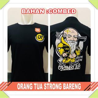 Baju Tshirt Kaos Distro Orang Tua Topi Kanji Shopee Indonesia