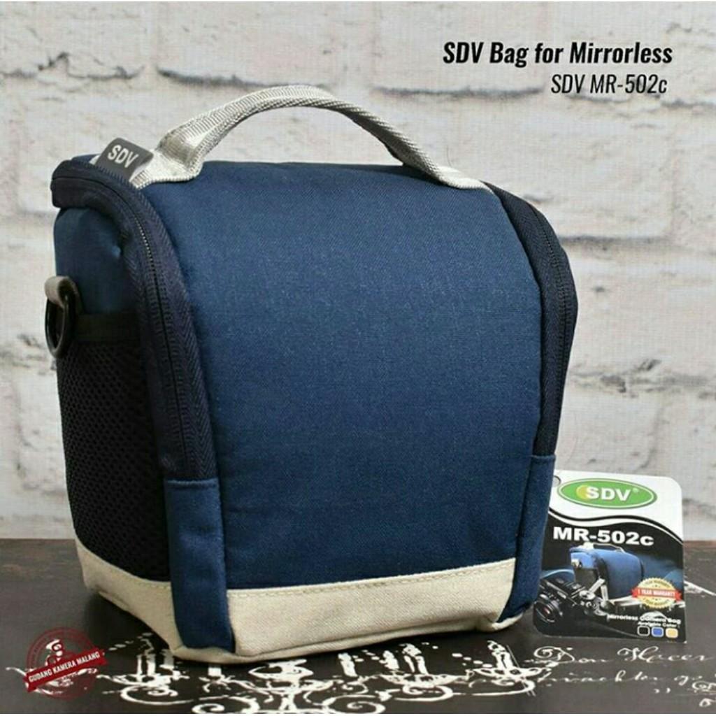 Sdv 7062 Red Tas Kamera Pocket Shopee Indonesia Mr 502c Mirrorless Camera Bag