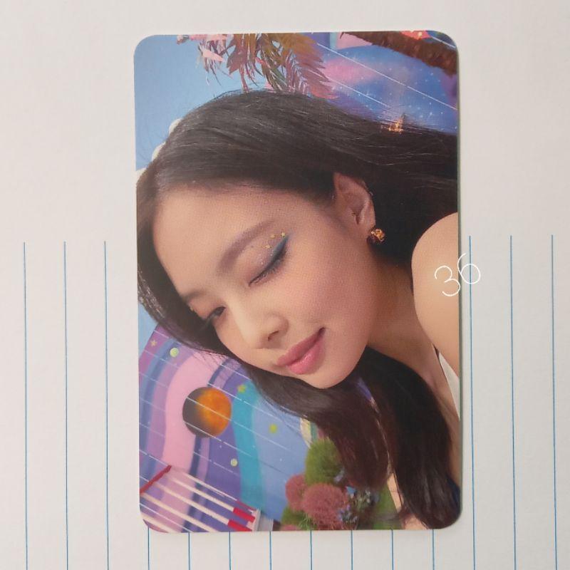 Photocard PC Jennie Wink