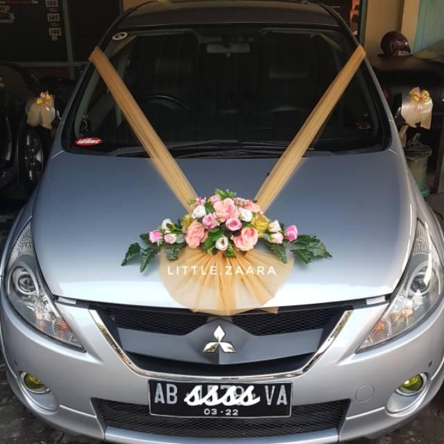 Wedding Car Decoration Hiasan Mobil Pengantin