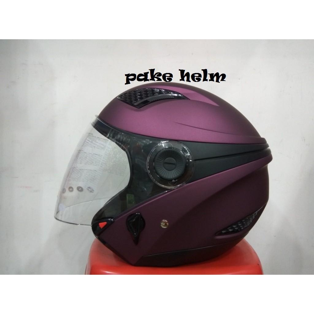 Zeus Helm Half Face Double Visor Zs 610k Polos Orange8 Daftar Hijau Tua Dove Terbaru Sni Murah Wanita Pink Terlaris Shopee Indonesia