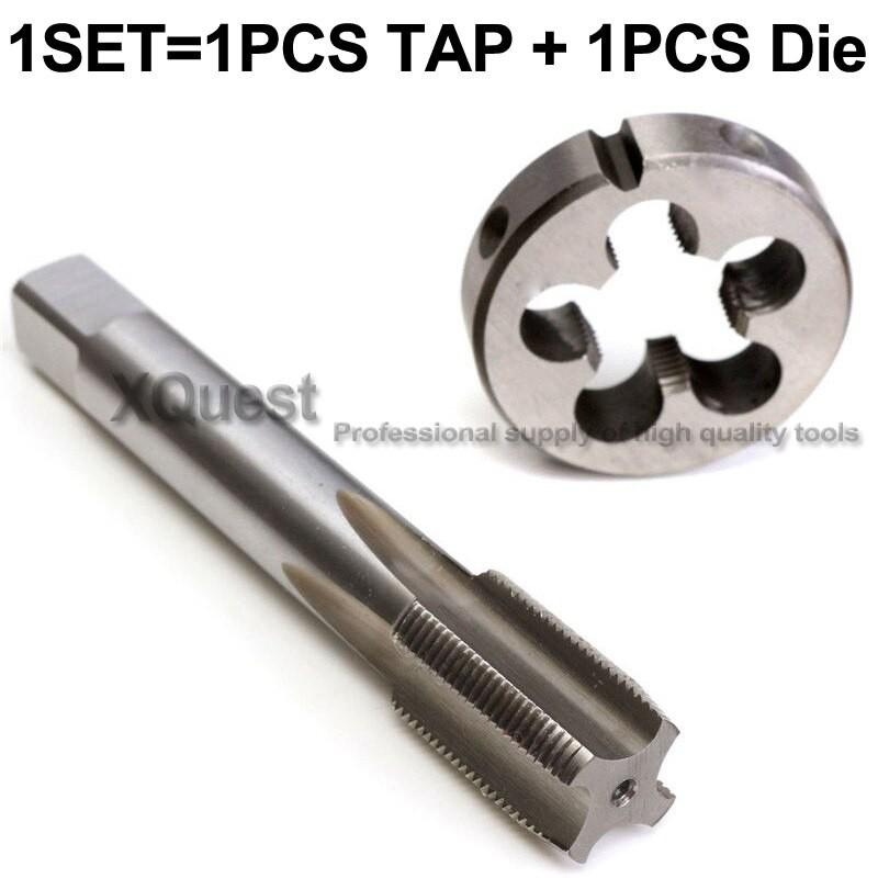 1set  HSS 1//4-20 UNC Tap Left Hand /& 1//4-20 UNC Die Left Hand Threading Tools