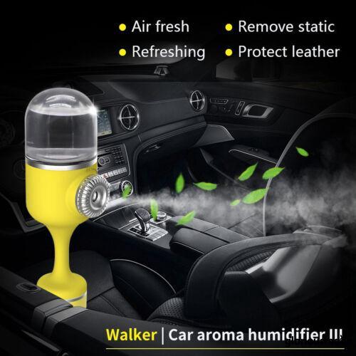 Mini Car Air Humidifier Diffuser Essential Oil Ultrasonic Diffuser Purifier Mist