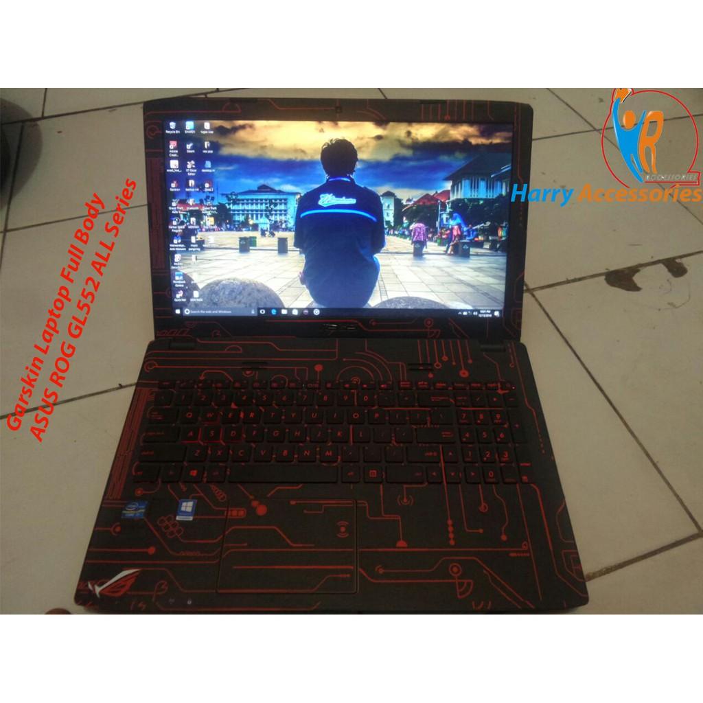 bd14252f3 Garskin Laptop Full Body Asus, Acer, Compaq, Lenovo, Toshiba,Hp (Motif Bisa  Custom)   Shopee Indonesia