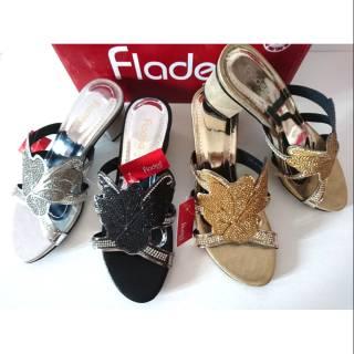 Pencari Harga Sandal High Heels Fladeo size 36 37 38 40 belanja murah -  only 80.000Rp 9a3a81606c