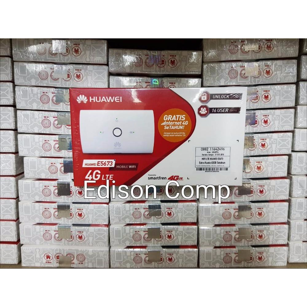 Promo Paket Modem Wifi Mifi Router Huawei E5577 Bundling Telkomsel Bundle Free 14gb Unlock All Operator 3g Shopee Indonesia
