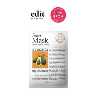 Ariul 7days Mask - Avocado - size 20 gr - Edit by Sociolla thumbnail