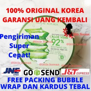 [PROMO TERBATAS] Nature Republic Aloe Vera Soothing Gel 100% ORIGINAL KOREA Jar thumbnail