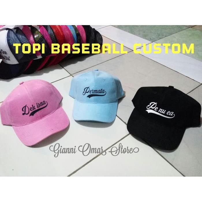 Keren Dan Murah Topi Baseball Import Fashion Police Wanita Pria Polos Korea Kpop | Shopee Indonesia