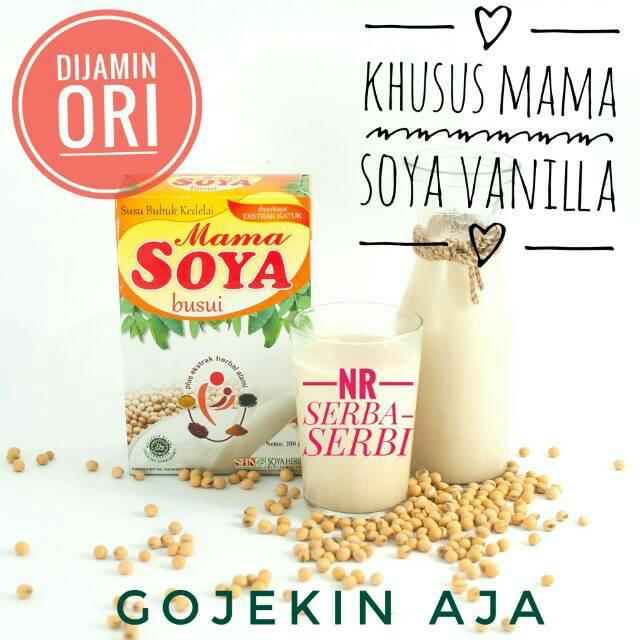 Mama Soya / Mamasoya 2 Varian Rasa (Susu Kedelai Pelancar ASI) 200gr | Shopee Indonesia