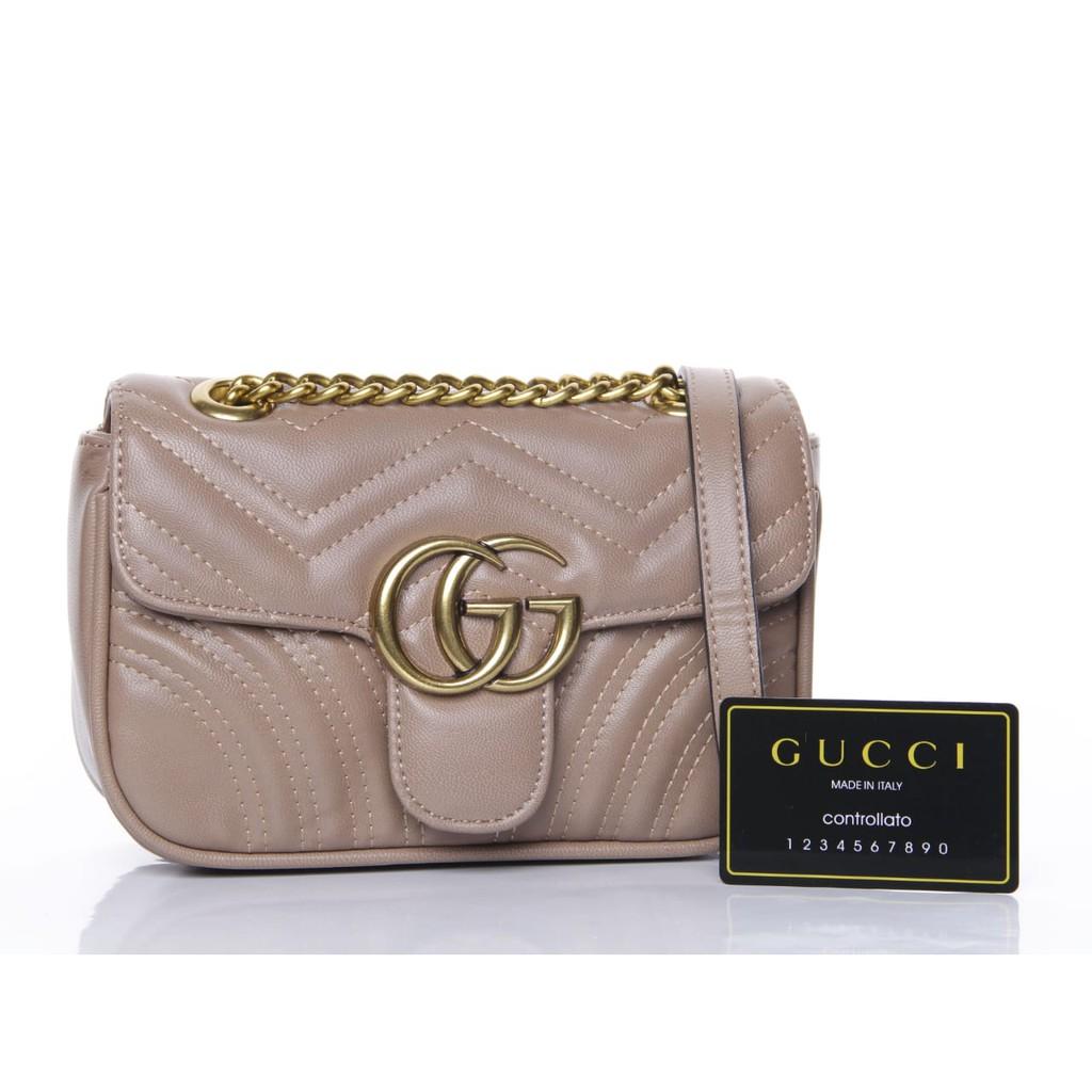 a6abb870c2a5 Ready Gucci GG marmont | Shopee Indonesia