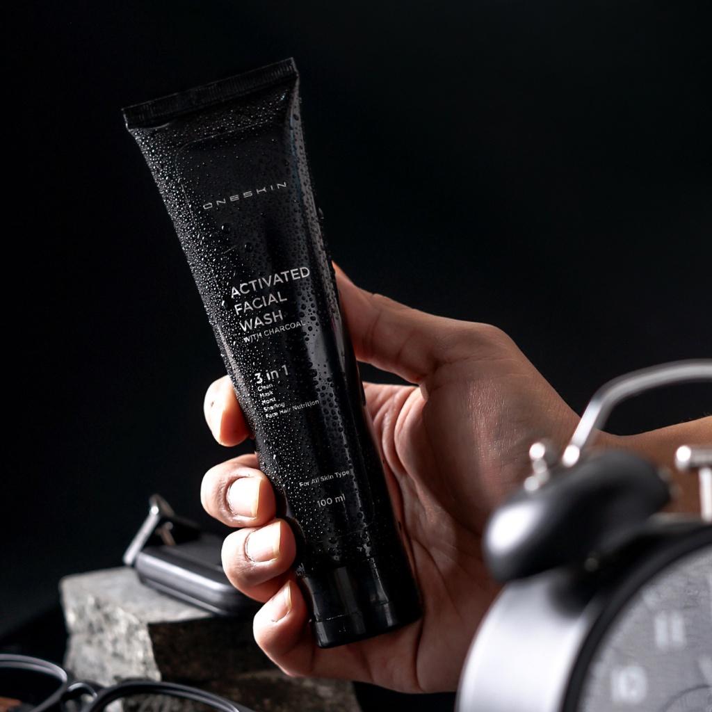 Oneskin Activated Facial Wash – Membersihkan kotoran Mengontrol minyak berlebih