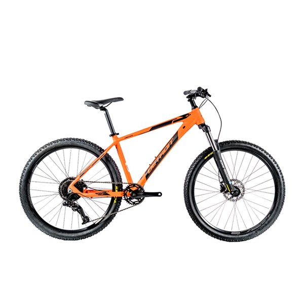 """Carbon Look! Sepeda Gunung United Detroit 4.1 27.5"""" x 2.10"""" MTB Alloy 1x10Sp Fork HLO Hydraulic Disc"""