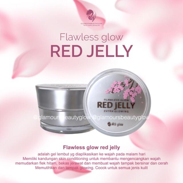NEW RED JELLY EXTRA GLOWING/ REDJELLY / FLAWLESS GLOW REDJELLY | Shopee Indonesia