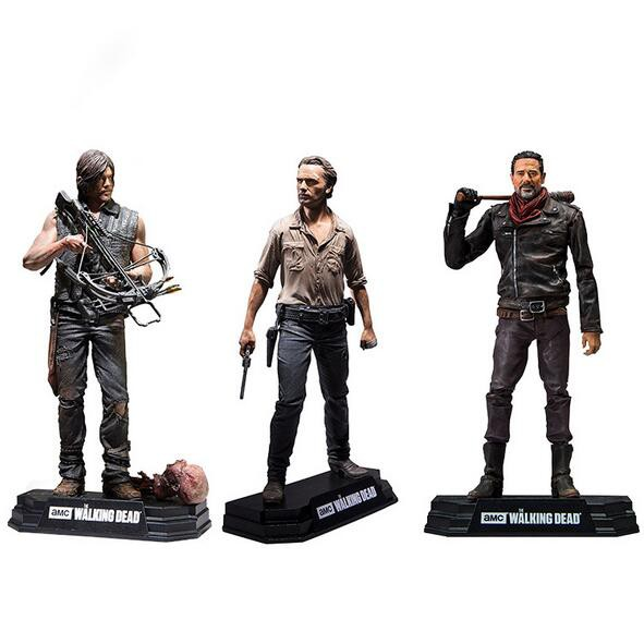 The Walking Dead TV Series 7 Negan Action Figure Gift Toys Collection NEW In Box