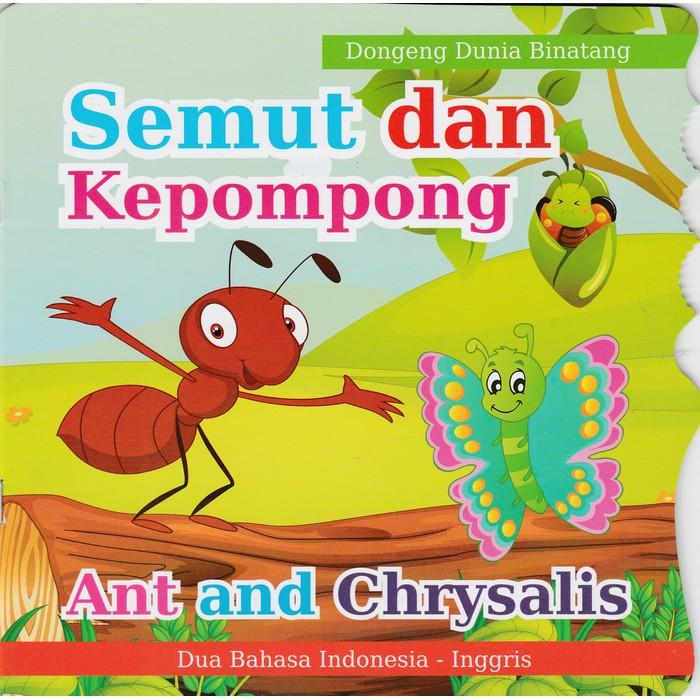 Buku Dongeng Binatang Semut Dan Kepompong Shopee Indonesia