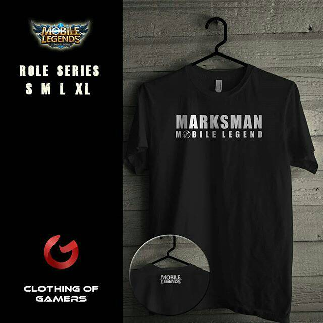 Kaos Mobile Legends Role Marskman Shopee Indonesia