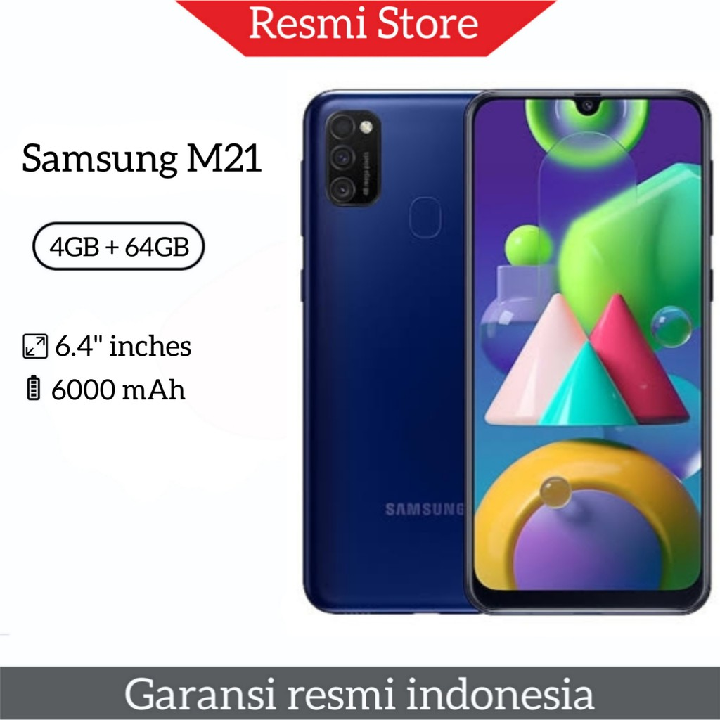 Samsung M21 (4GB/64GB) NEW BNIB | Shopee Indonesia
