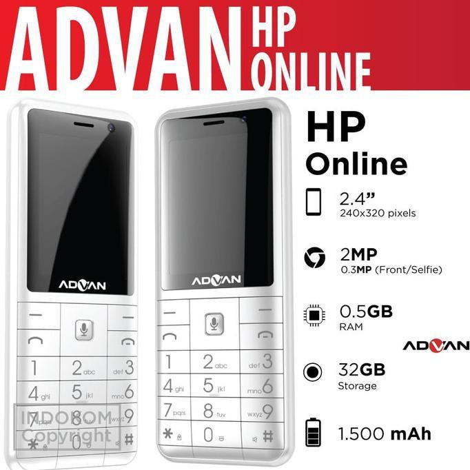 ADVAN HAPE ONLINE - WHITE
