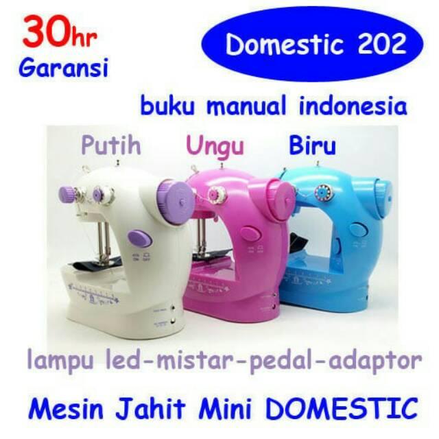 Sewing Machine S2 / FHSm 202 / GT 202 Mesin Jahit mini   Shopee Indonesia