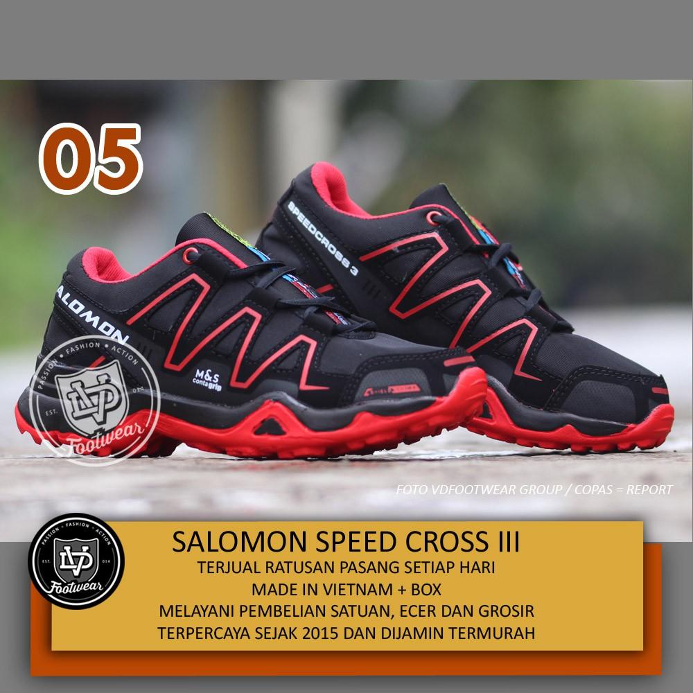 VD x SEPATU SALOMON SPEED CROSS III OLAHRAGA HIKING PRIA  92bf273c9e