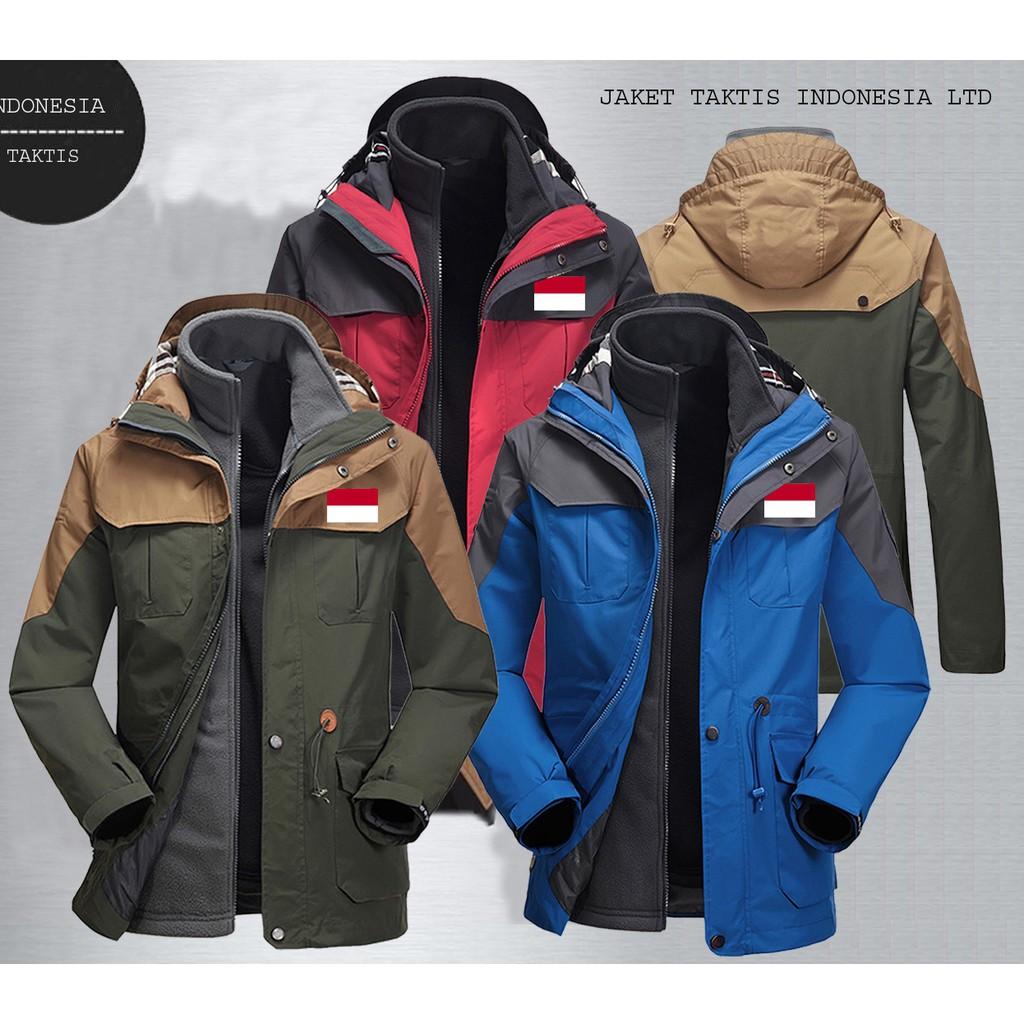 Jaket Taktis Logo club bola   Jaket Parasut Waterproof   Jaket Trendy   Jaket  Touring Original  f1dbd16260