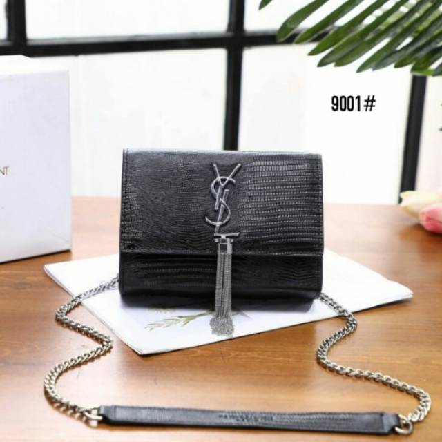 96fd051fa8f2 71124 High Premium AAA YSL Yves Saint Laurent Medium Niki Chain Bag |  Shopee Indonesia