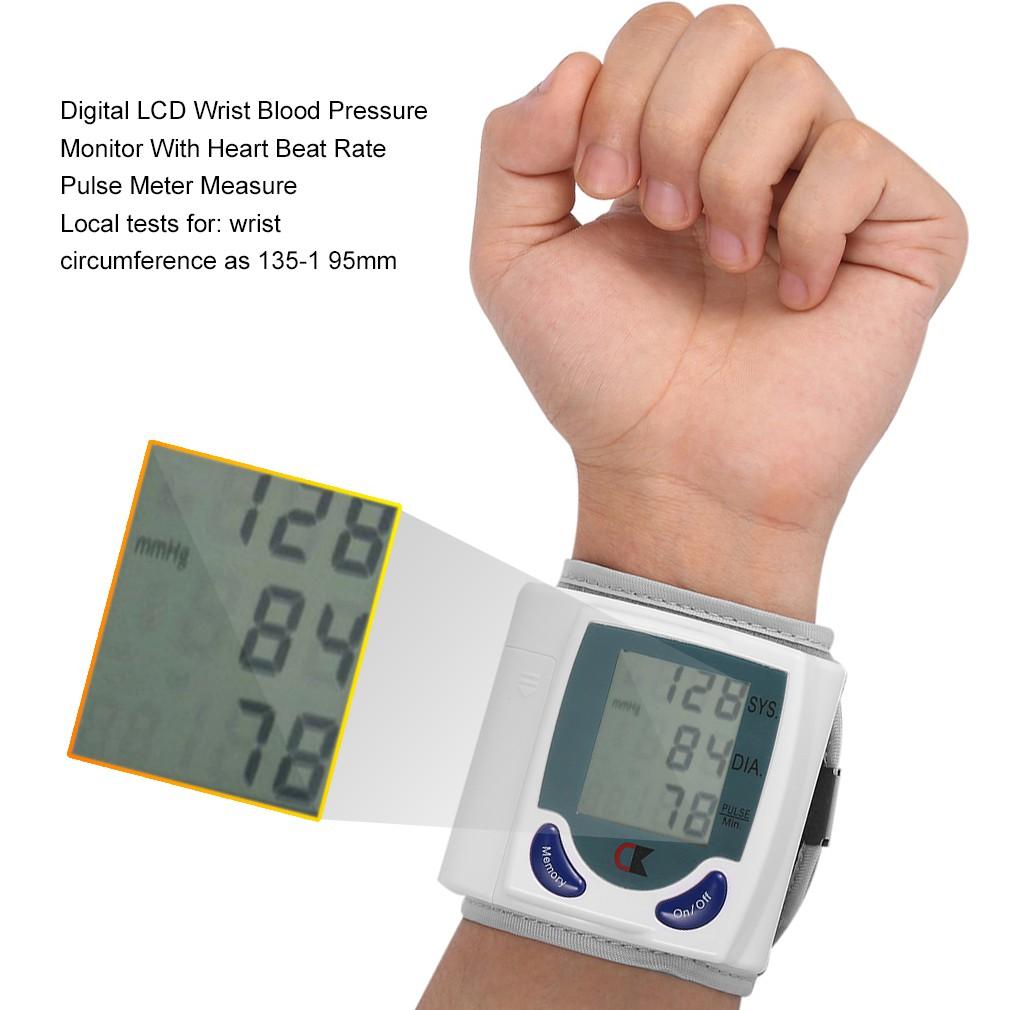 Bp826 Tensimeter Pengukur Tekanan Darah Digital Dengan Monitor Alat Kesehatan Tensi Blood Pressure Shopee Indonesia