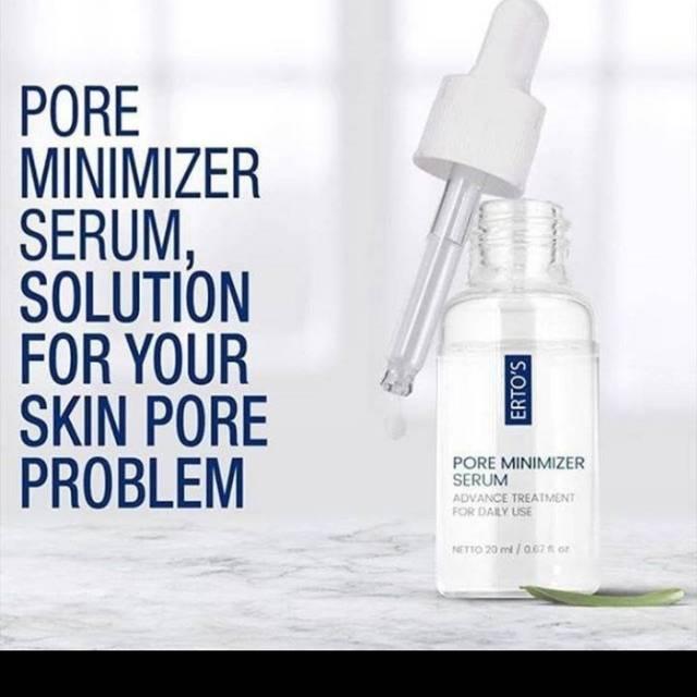 Pore Minimizer Serum Ertos Ertos Serum Pengecil Bopeng Pori