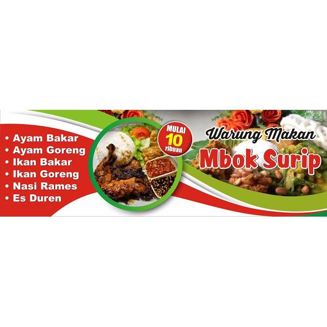 Contoh Desain Baliho Warung Makan