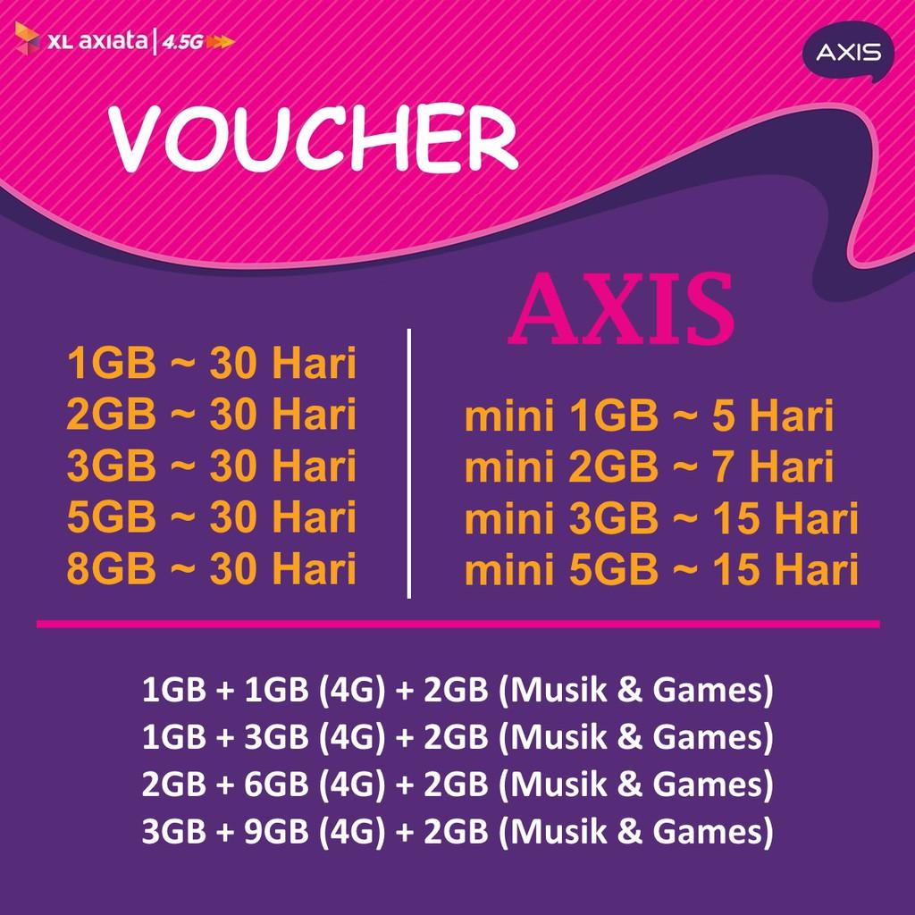 Belanja Online Pulsa Voucher Shopee Indonesia Xl Number  Meriah