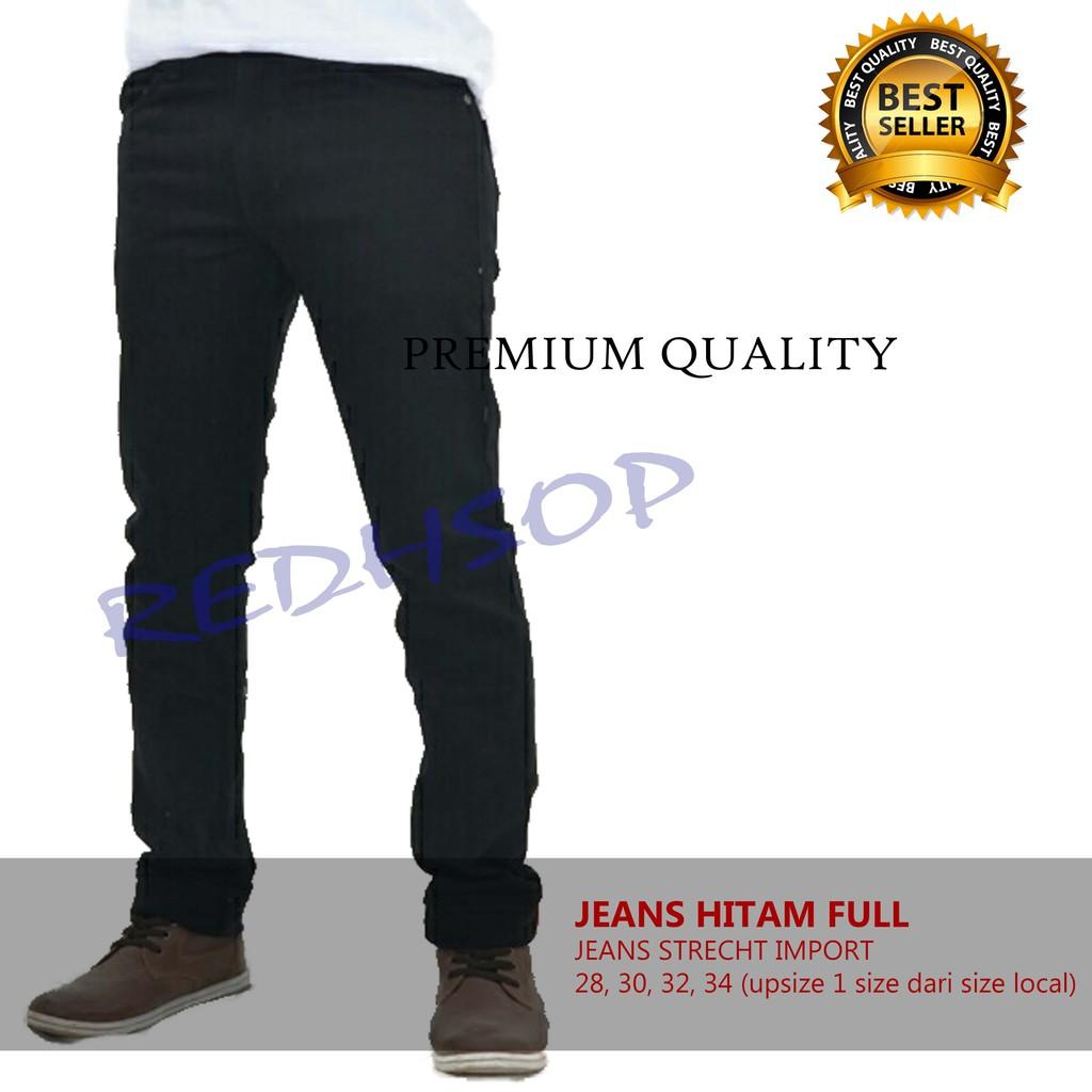 Celana panjang jeans pria ukuran jumbo XXXL  91b3c4e156