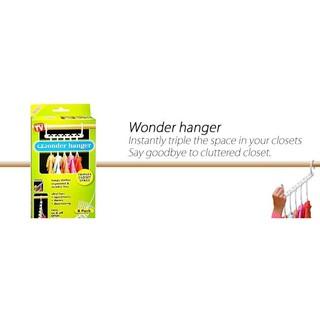 Perbandingan harga TERMURAH GAN Wonder Hanger Magic Gantungan Baju Pakaian isi 8 pcs door lemari baju Serba Hoki lowest price - only Rp2.136