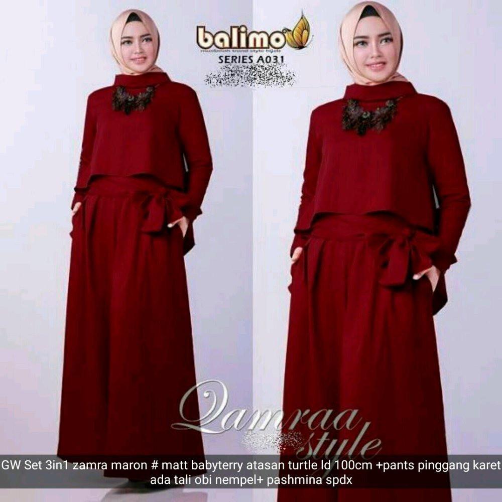 Hijab Dian Pelangi Baju Muslim Pesta Mewah Gamis Maxi Dayana Gamis 0fc1dd7668