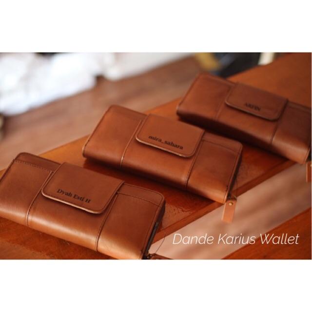 Dompet Kulit Wanita Fashion Nubuck Leather Wallet Women - Black | Shopee Indonesia