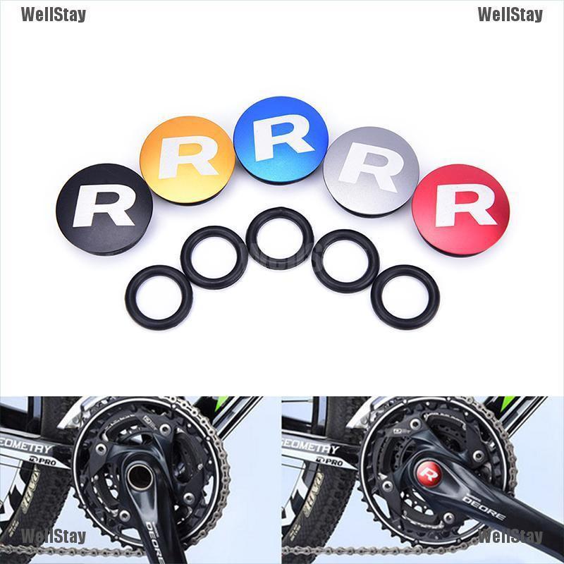 MTB Bicycle Bike Crankset Crank Parts Bottom Bracket Dust Proof Cover Cap Bolt
