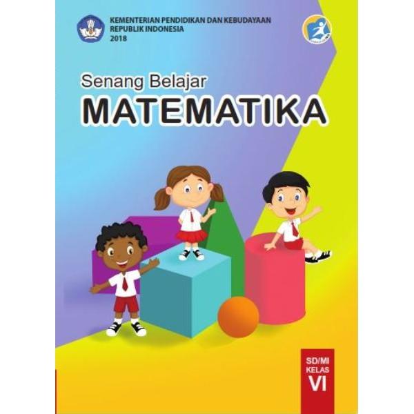 Sd Buku Teks Utama Siswa Senang Belajar Matematika 6 Kelas 6 Shopee Indonesia