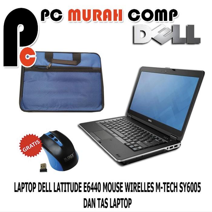Laptop Dell Latitude E6440 Core I5 Haswell Lengkap Tas Dan Mouse Shopee Indonesia