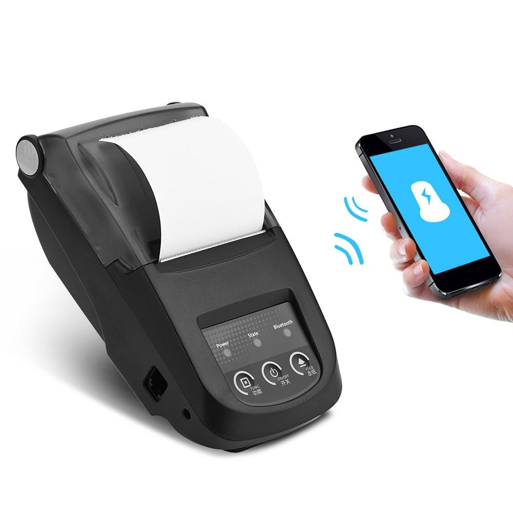 Mini Printer Thermal Bluetooth 58mm Eppos Ep5802ai Android Ios Baterai Shopee Indonesia