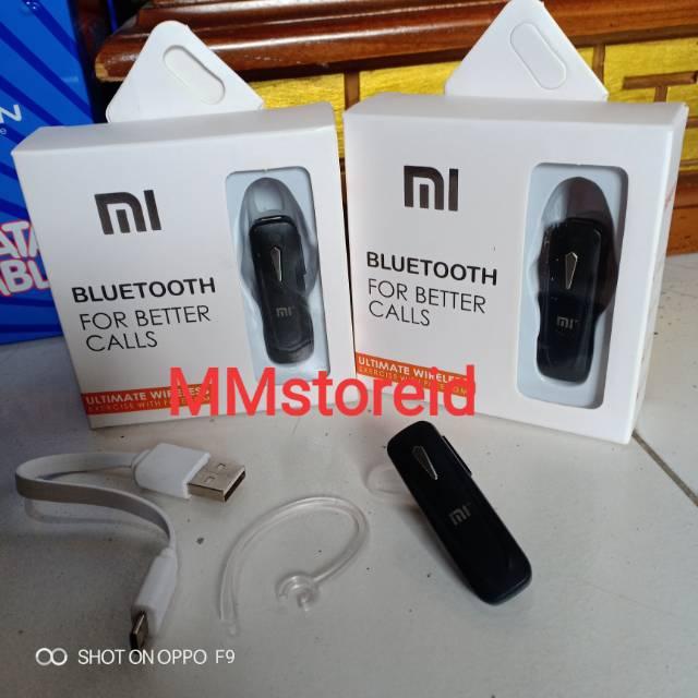 Headset handsfree earphone bluetooth xiaomi high quality / headset bluetooth xiaomi for better call