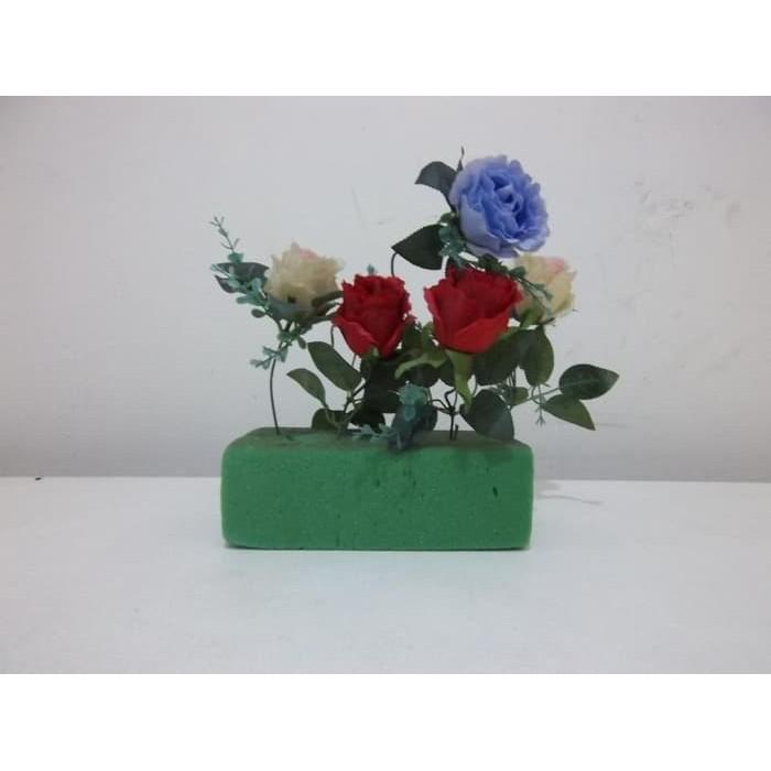 Floral Foam Basah Busa Hijau Basah Gabus Bunga Hidup Oasis Gabus ... 1e5919fb3c