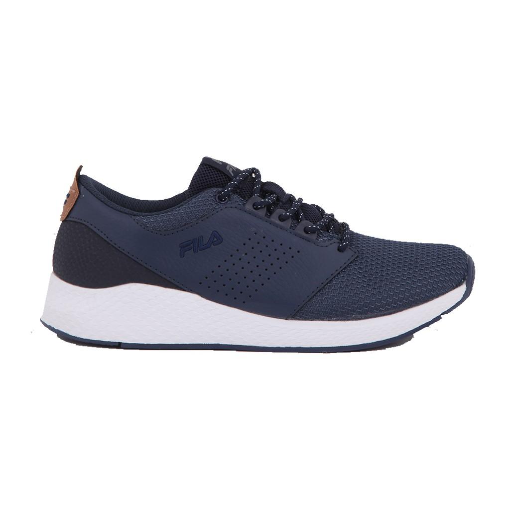 Fila Sepatu Lari Olahraga Formatic - Navy White Grey  09665e49df